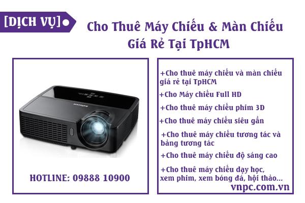 Cho thuê máy chiếu giá rẻ – Cho thuê máy chiếu TPHCM