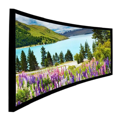 màn chiếu cong 250 inch
