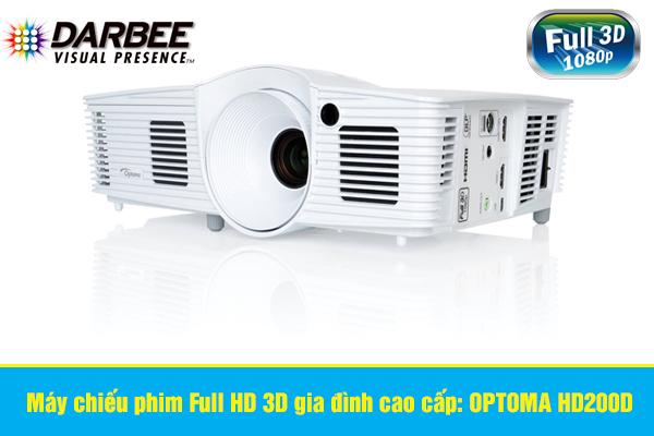 OPTOMA HD200D máy chiếu phim Full HD 3D gia đình cao cấp