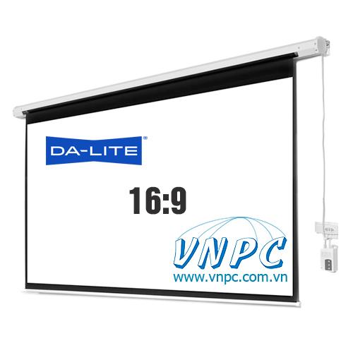 Màn chiếu điện 100 inch tỉ lệ 16:9 chuyên xem phim HD 3D