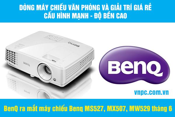 Benq ra mắt máy chiếu Benq MS527, MX507, MW529 tháng 6