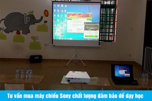Tư vấn mua máy chiếu Sony chất lượng đảm bảo để dạy học