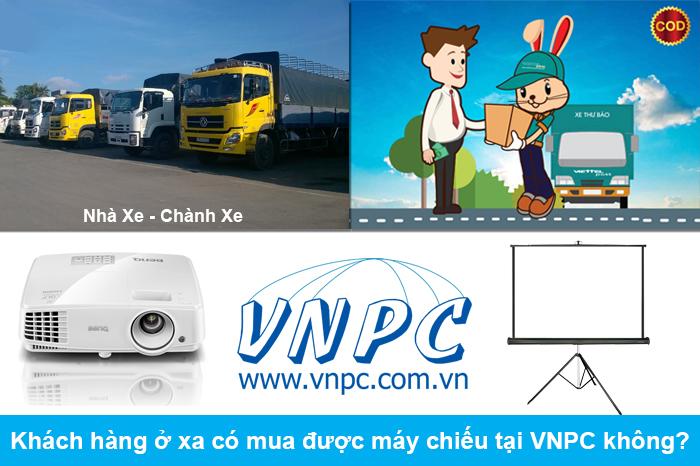 Khách hàng ở xa có mua được máy chiếu tại VNPC không?