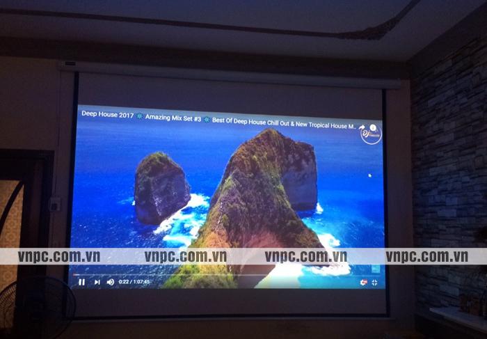 Hình chiếu thực tế máy chiếu Viewsonic PJD255XV