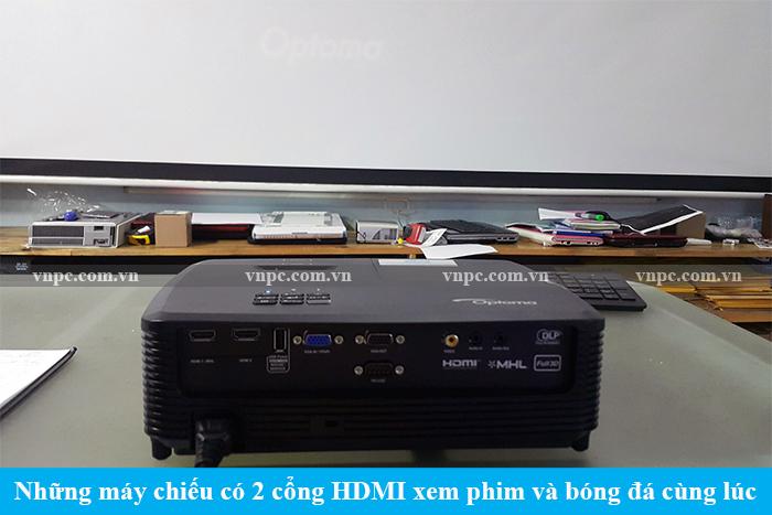 Những máy chiếu có 2 cổng HDMI xem phim và bóng đá cùng lúc