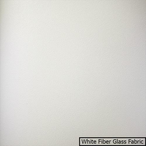 Vải màn chiếu White Fiber Glass Fabric màu trắng siêu sáng