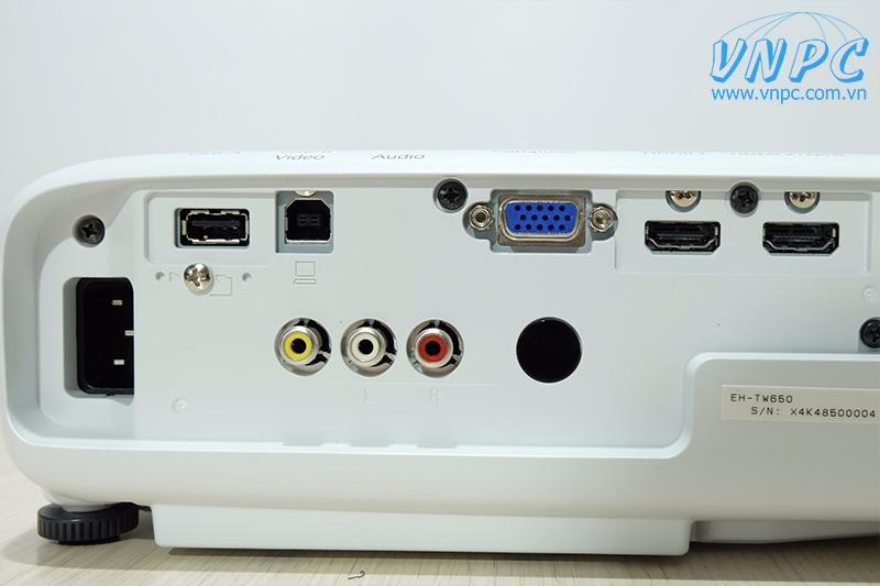 Máy chiếu Epson EH-TW650 cho phòng phim gia đình Full HD