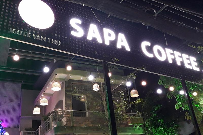 Lắp máy chiếu Epson EB-X05 cho Sapa Coffee 24h Quận Gò Vấp