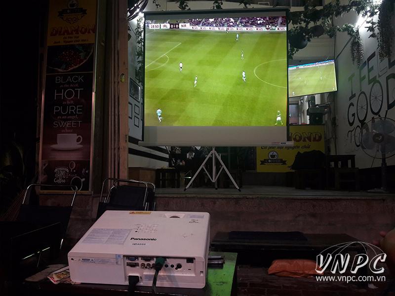 Cho thuê máy chiếu Panasonic độ sáng cao 4000 Ansi Lumens