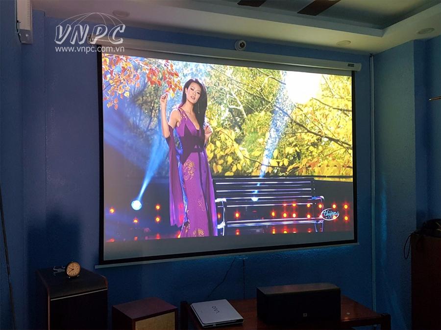Lắp đặt máy chiếu Viewsonic PG700WU cho phòng phim Full HD