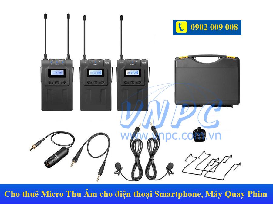 Cho thuê Micro Thu Âm cho điện thoại Smartphone tại TPHCM