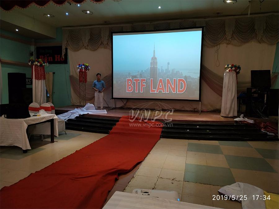 Cho thuê máy chiếu tổ chức sự kiện bất động sản tại Củ Chi