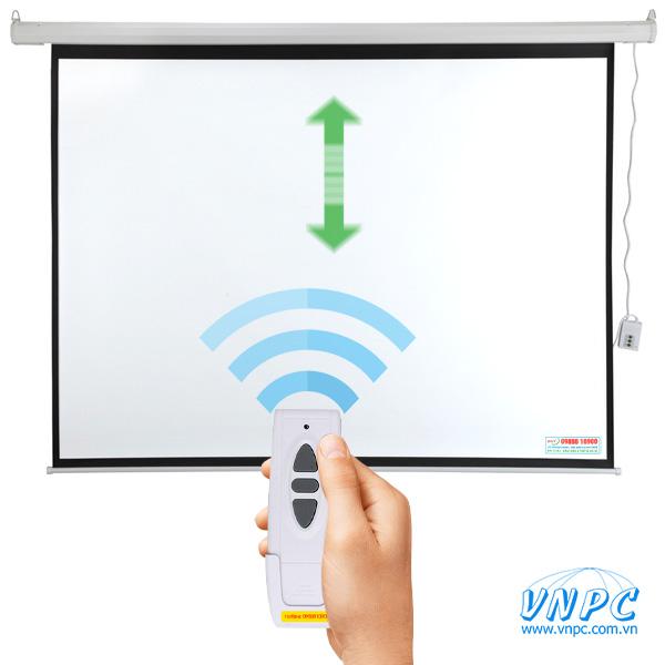 Màn chiếu điện tự động điều khiển từ xa