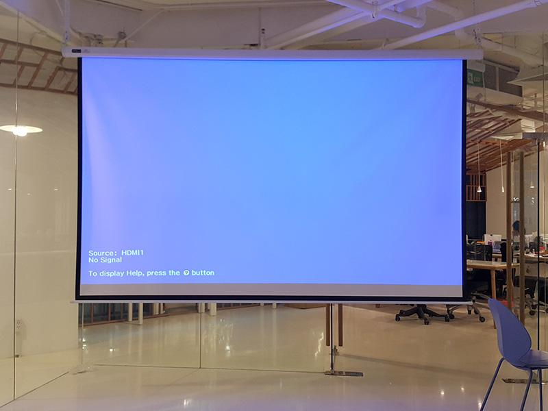 Màn chiếu điện 150 inch | Màn chiếu tự động 150 inch