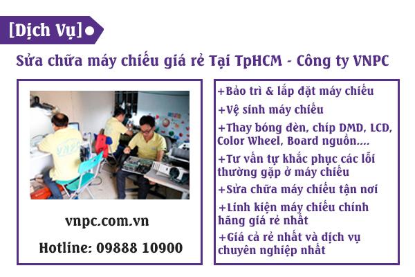 [Dịch Vụ] Sửa chữa máy chiếu giá rẻ Tại TpHCM