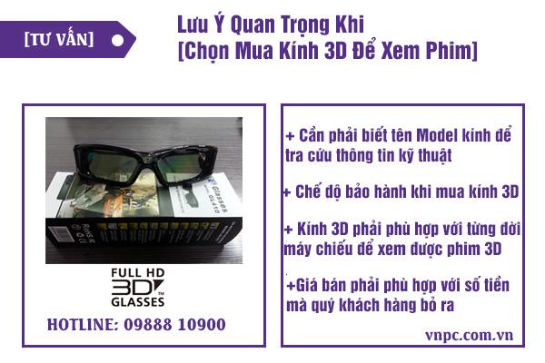 hướng dẫn chọn mua kính 3d