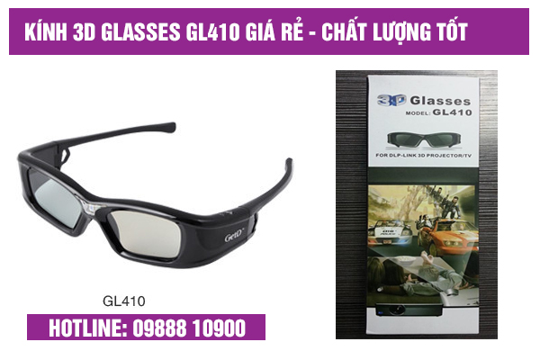 kính 3D Glasses GL410