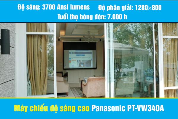 Máy chiếu độ sáng cao Panasonic PT-VW340A siêu đẹp