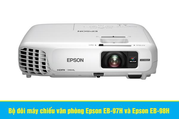 Bộ đôi máy chiếu văn phòng Epson EB-97H và Epson EB-98H