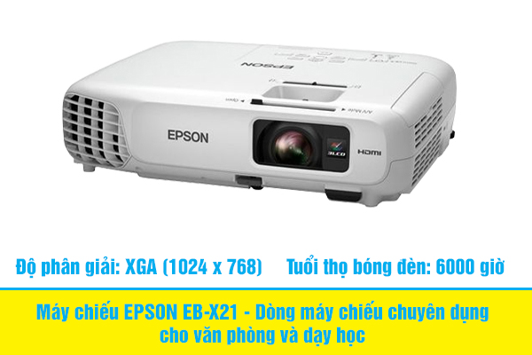 [Review] Đánh giá chi tiết máy chiếu EPSON EB-X21