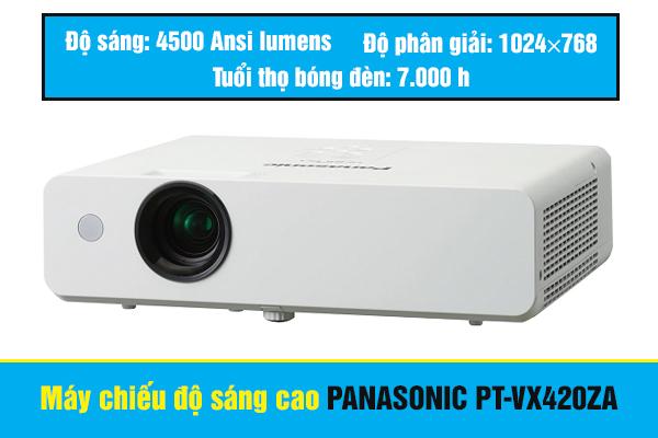 Máy chiếu PANASONIC PT-VX420ZA độ sáng 4500 Lumens