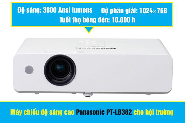 Máy chiếu độ sáng cao Panasonic PT-LB382 cho hội trường