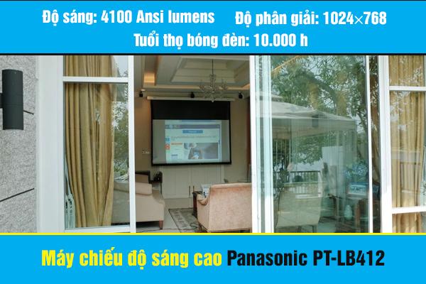Máy chiếu đa năng độ sáng cao Panasonic PT-LB412