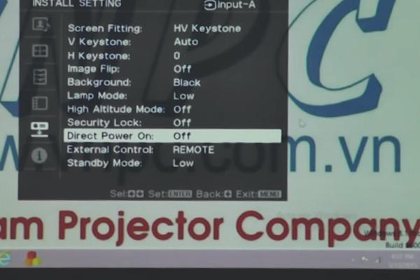 Sử dụng máy chiếu Sony đúng cách và hiệu quả nhất