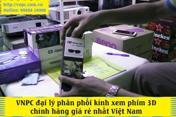 VNPC đại lý phân phối kính xem phim 3D chính hãng giá rẻ
