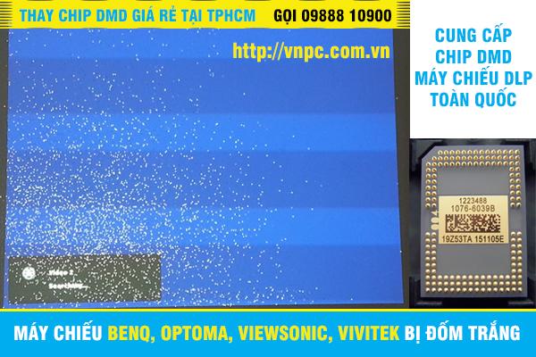Máy chiếu Benq, Optoma, ViewSonic, Vivitek bị đốm trắng