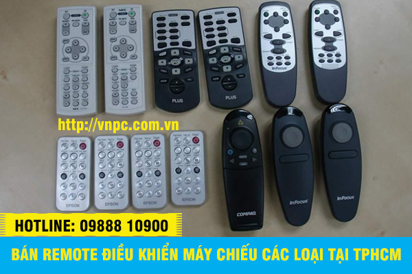 Bán remote điều khiển máy chiếu đa năng các loại tại TPHCM