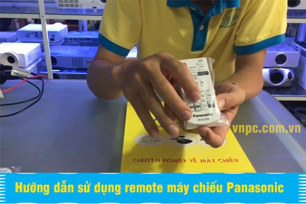 Hướng dẫn sử dụng remote máy chiếu Panasonic