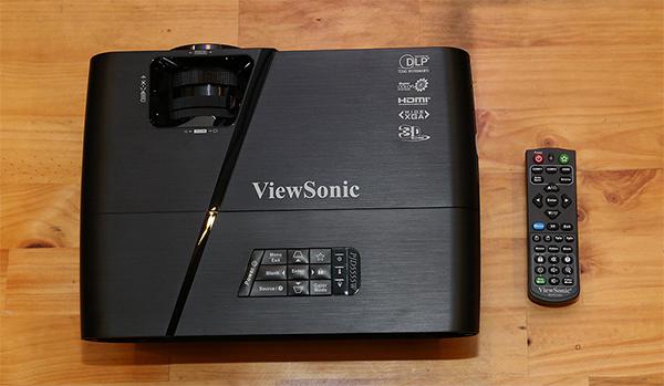 Hình ảnh thực tế máy chiếu ViewSonic PJD515