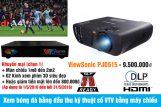 Xem bóng đá bằng đầu thu kỹ thuật số VTV và máy chiếu