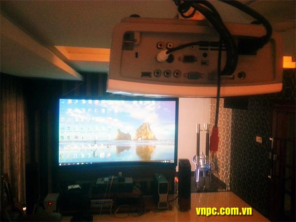 Màn chiếu phim HD 3D loại màn chiếu cong