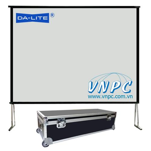 Màn chiếu khung gấp 200 inch lắp ghép cho hội trường lớn