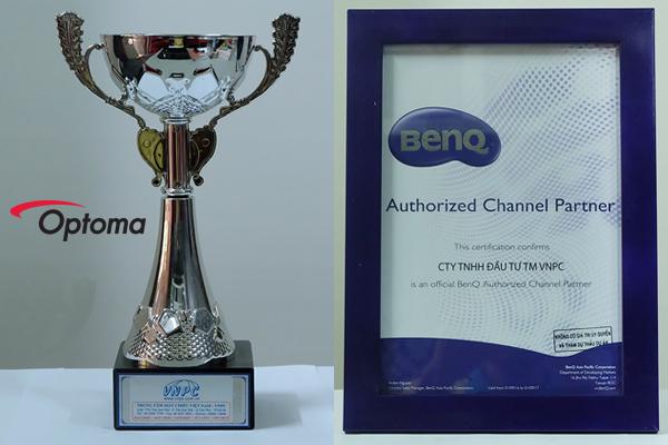 Giải thưởng và danh hiệu của Công ty máy chiếu VNPC
