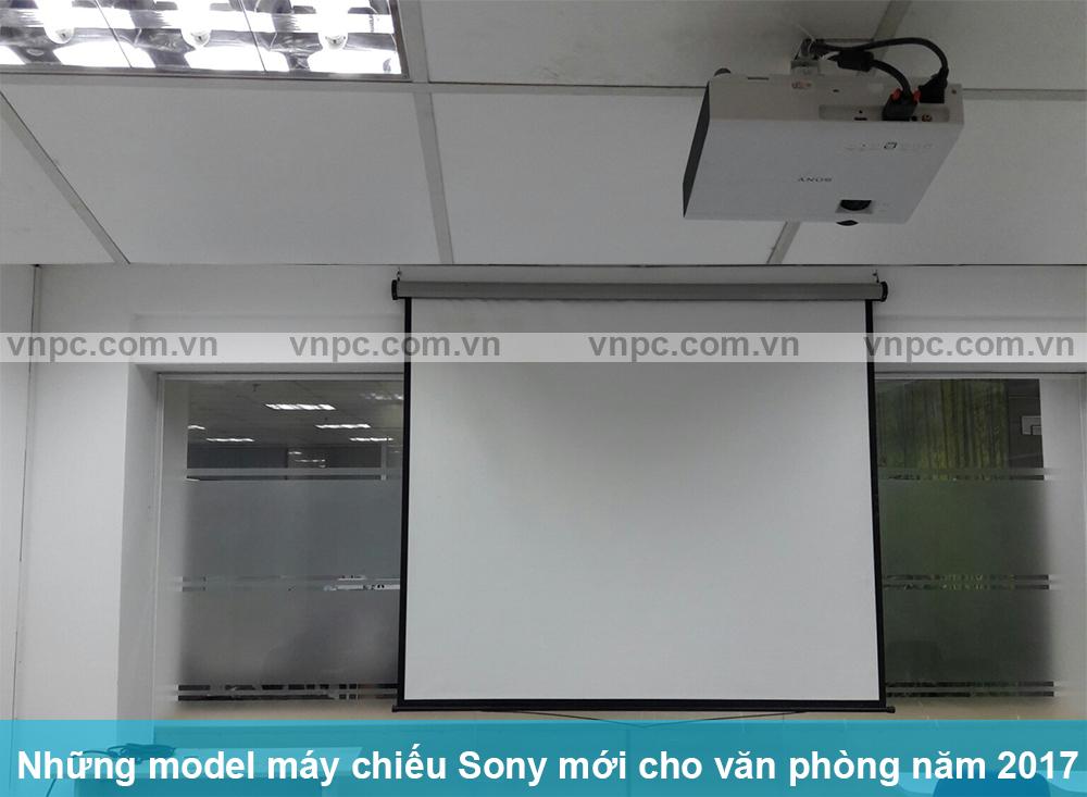 Những model máy chiếu Sony mới cho văn phòng năm 2017