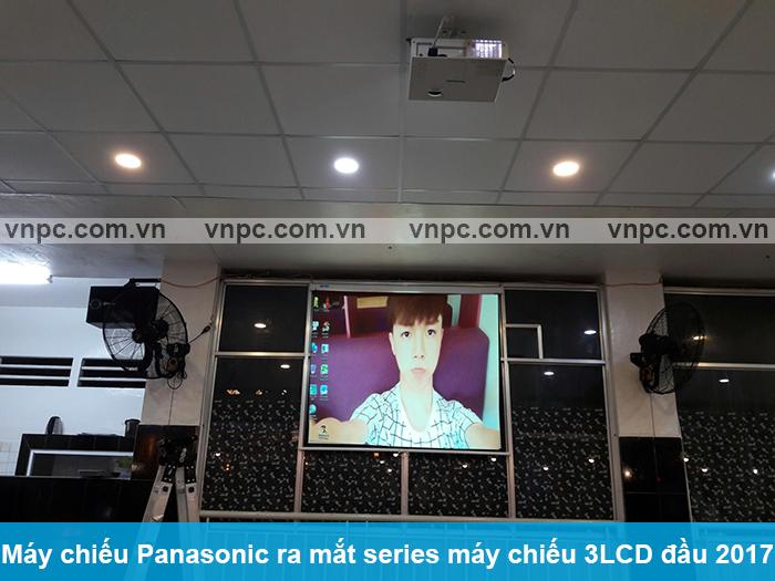 Máy chiếu Panasonic ra mắt series máy chiếu 3LCD đầu 2017