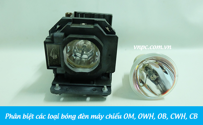 Phân biệt các loại bóng đèn máy chiếu OM, OWH, OB, CWH, CB