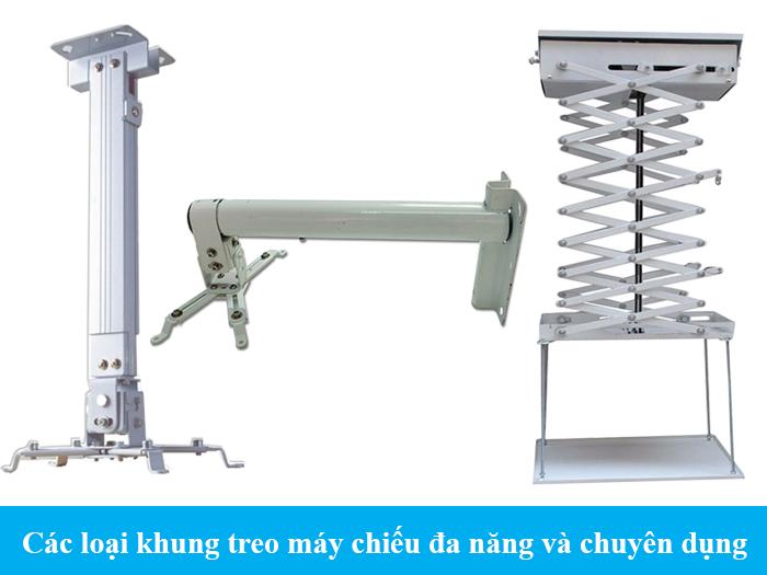 Các loại khung treo máy chiếu đa năng và chuyên dụng
