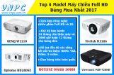 Top 4 model máy chiếu Full HD đáng mua nhất 2017