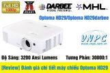 [Review] Đánh giá chi tiết máy chiếu Optoma HD29