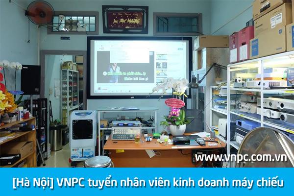 [Hà Nội] VNPC tuyển nhân viên kinh doanh máy chiếu