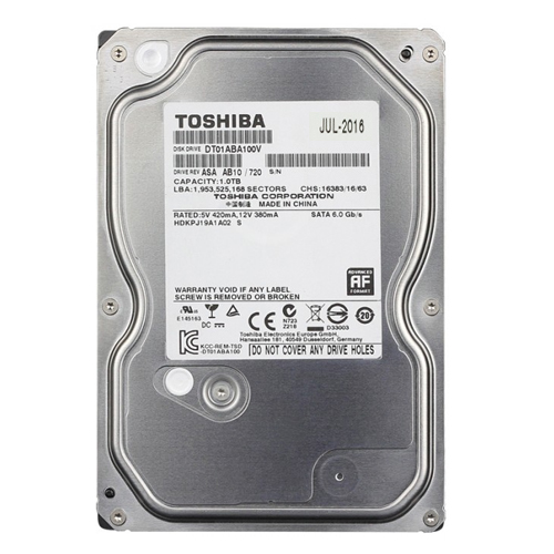 Ổ cứng HDD TOSHIBA 1TB giá tốt cho lưu trữ phim HD 3D