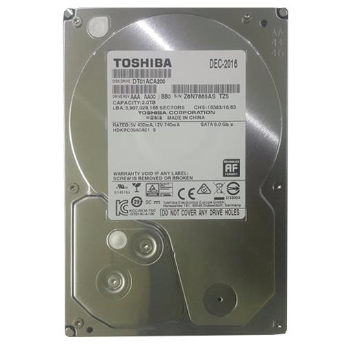 Ổ cứng HDD TOSHIBA 2TB giá tốt cho lưu trữ phim HD 3D