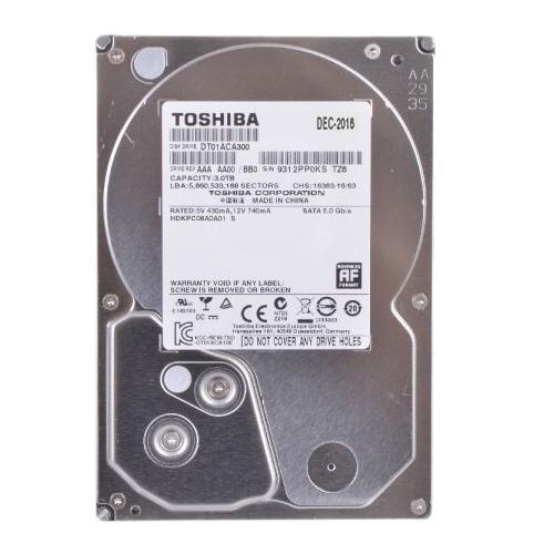 Ổ cứng HDD TOSHIBA 3TB giá tốt cho lưu trữ phim HD 3D