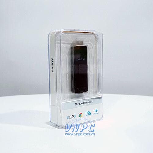 Bộ phát Wireless không dây Measy A2W Miracast cho máy chiếu