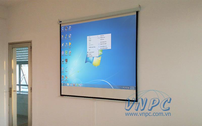 Lắp đặt máy chiếu Optoma PS368 cho lớp văn phòng công ty