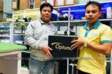 Lắp máy chiếu Optoma PS368 cho phòng phim gia đình ở Đắk Lắk